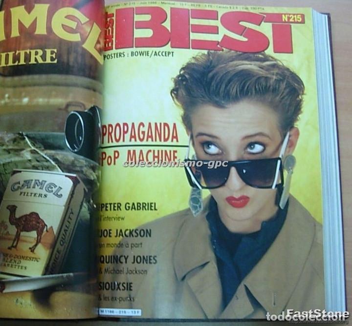 Revistas de música: Tomo Revista Música BEST 1986 Año Completo MADONNA STING BOWIE SADE THE CURE ZZ TOP DEPECHE MODE - Foto 6 - 129054719