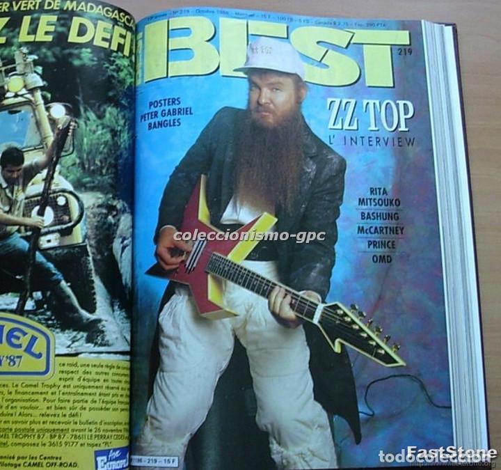Revistas de música: Tomo Revista Música BEST 1986 Año Completo MADONNA STING BOWIE SADE THE CURE ZZ TOP DEPECHE MODE - Foto 9 - 129054719
