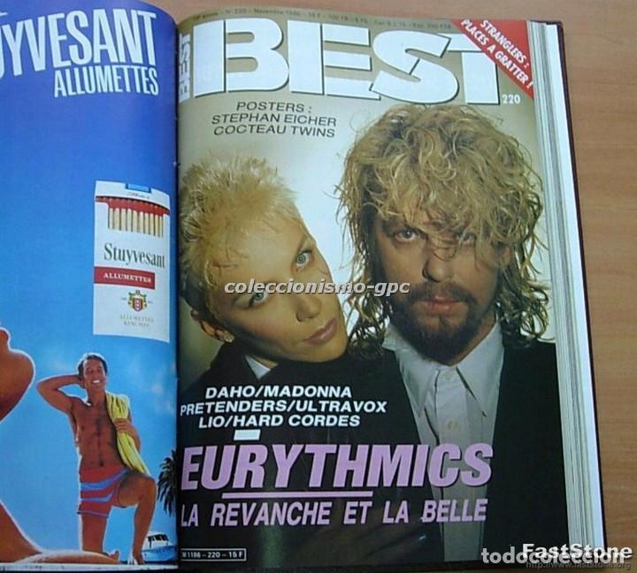 Revistas de música: Tomo Revista Música BEST 1986 Año Completo MADONNA STING BOWIE SADE THE CURE ZZ TOP DEPECHE MODE - Foto 10 - 129054719