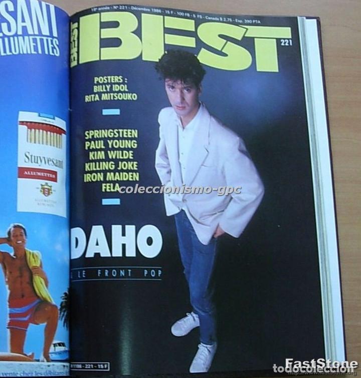 Revistas de música: Tomo Revista Música BEST 1986 Año Completo MADONNA STING BOWIE SADE THE CURE ZZ TOP DEPECHE MODE - Foto 11 - 129054719