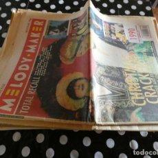 Revistas de música: PERIODICO MUSICAL INGLES MELODY MAKER 29 ENERO 90 THE FARM JANES ADDICTION CURE PIXIS CHARLATANS... Lote 129207227