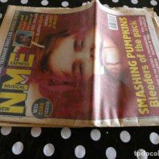 Revistas de música: REVISTA MUSICAL INGLESA NEW MUSICAL EXPRESS 4 SEPTIEMBRE 1993 SMASHING PUMPKINS MEAT LOAF NIRVANA. Lote 129208471