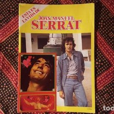 Revistas de música: REVISTA - ESTA ES LA VIDA DE JOAN MANUEL SERRAT. Lote 129348759