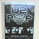 Revistas de música: U2 ITINERARY TOURBOOK POPMART TOUR MUY RARO COMO NUEVO NO PROMO VINILO LP CD. Lote 129596279