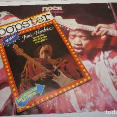 Revistas de música - POPSTER nº 12 JIMI HENDRIX, revista / poster, super poster 65x90 + poster doble HENDRIX/LED ZEPPELIN - 129746151