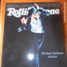 Revistas de música: ROLLING STONE SPECIAL- MICHAEL JACKSON 1958-2009 - SPECIAL COMMEMORATIVE ISSUE.-. Lote 131356266