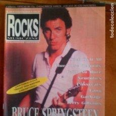 Revistas de música: REVISTA ROCKS MUSICZINE N,22 FEBRERO DEL 1999 AÑO III. Lote 131541586
