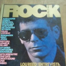 Revistas de música: REVISTA ROCK ESPEZIAL - Nº 7 - 1982 - LOU REED, LA MODE, JAPAN, POLICE, ALICE COOPER, SOFT CELL. Lote 132079230
