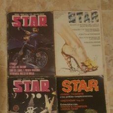 Revistas de música: LOTE 4 REVISTAS STAR N° 35, 37, 38 Y 46. Lote 132181249