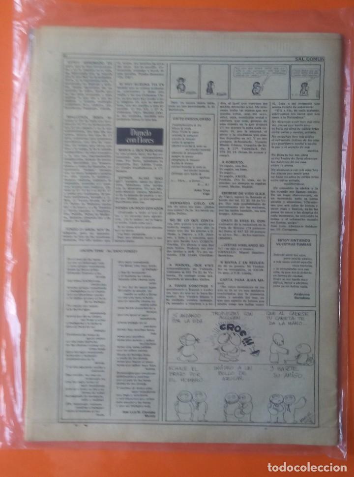 Revistas de música: SAL COMÚN Nº 18 AÑO 1979 Triana,Imán,Marina Rosell... - Foto 2 - 132287794
