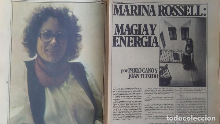 Revistas de música: SAL COMÚN Nº 18 AÑO 1979 Triana,Imán,Marina Rosell... - Foto 3 - 132287794