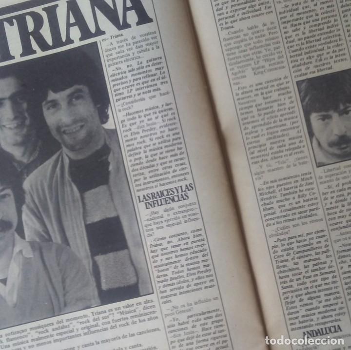 Revistas de música: SAL COMÚN Nº 18 AÑO 1979 Triana,Imán,Marina Rosell... - Foto 5 - 132287794