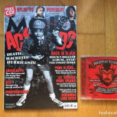 Revistas de música: MOJO #199 JUNIO 2010 + CD: AC/DC, DYLAN, PAVEMENT, LEE SCRATCH PERRY, SCREAMING LORD SUTCH.... Lote 132407087