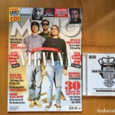 Revistas de música: MOJO #238 SEPTIEMBRE 2013 + CD: NIRVANA, PETER GABRIEL, ELVIS COSTELLO, NINE INCH NAILS.... Lote 132413195