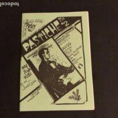 Revistas de música: FANZINE HISTÓRICO ORIGINAL PASTICHE N°2 BASAURI, 1985. NEW YORK DOLLS, PVP, YO SOY JULIO CESAR, .... Lote 132513022