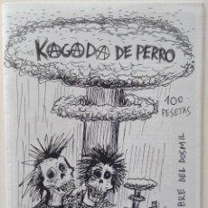 Revistas de música: FANZINE PUNK HARDCORE KAGADA DE PERRO ARNEDO LA RIOJA. Lote 132521678