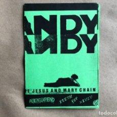 Revistas de música: PSYCHO CANDY (IRUÑA, 1989). FANZINE MUSICAL. THE JESUS & MARY CHAIN, ALÍEN SEX FIEND, FLESH FOR LUL. Lote 132582098
