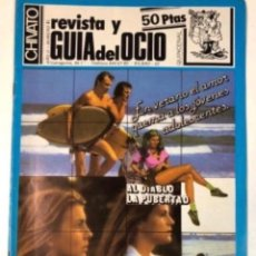 Revistas de música: CHIVATO N°45 REVISTA Y GUÍA DEL OCIO DE BILBAO 9/7/83. MECANO, LA EDAD DE ORO, LAVABOS ITURRIAGA, .. Lote 132614034