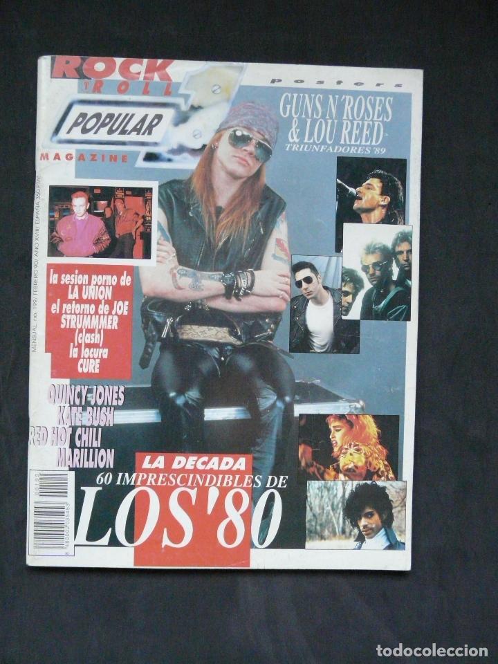 REVISTA POPULAR 1 Nº 199- FEBRERO 1990 (Música - Revistas, Manuales y Cursos)