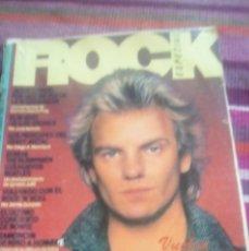 Revistas de música: ROCK ESPEZIAL Nº 1 1981 STONES, POLICE, ECHO & THE BUNNYMEN, BOWIE, RAMONCIN. PUBLI LOQUILLO REBELDE. Lote 132809934