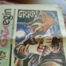 Revistas de música: GAZTEGIN 1995 BAT BI HIRU 24 PÁGINAS BAP! PLATERO Y TÚ THE ZEROS AUTOMATICS. Lote 132817210