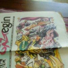 Revistas de música: GAZTEGIN 1995 BAT BI HIRU 24 PÁGINAS ESPARRAGO ROCK MUDHONEY MISTER SAGUAK AFRAID TO SPEAK IN PUBLIC. Lote 132817422