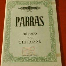 Revistas de música: MÉTODO PARA GUITARRA PARRAS - EDICIÓN IBÉRICA Nº 135 - ED. BOILEAU BARCELONA - AÑOS 70 - PARTITIRAS. Lote 132828462
