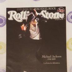 Revistas de música: REVISTA ROLLING STONE MICHAEL JACKSON LA HISTORIA DEFINITIVA. Lote 132901582