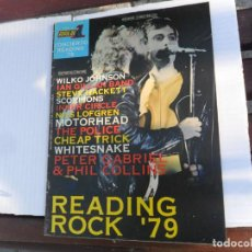 Revistas de música: POPULAR 1 Nº 12 CONCIERTOS. CONCIERTO READING 79. READING ROCK '79. 1979.. Lote 133528446