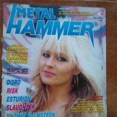 Revistas de música: METAL HAMMER NUM 32. DORO RISK ESTURION SLAUGHTER YNGWIE MALMTEEN SUICIDAL TENDENCIES. Lote 133710714