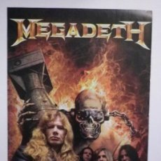 Revistas de música: RECORTE MEGADETH REVISTA KERRANG 185 ABRIL 2009. Lote 134114818