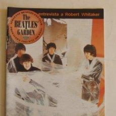 Revistas de música: REVISTA THE BEATLES' GARDEN 17 SGT. BEATLES FAN CLUB ZARAGOZA PRIMAVERA 97 VER CONTENIDOS EN SUMARIO. Lote 134287830
