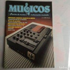 Revistas de música: MUSICOS PROFESIONAL Nº 31 REVISTA DE MUSICA E INSTRUMENTOS MUSICALES - AÑOS 80. Lote 134581914