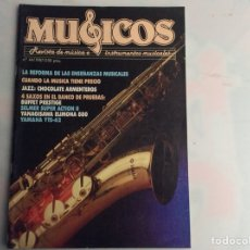 Revistas de música: MUSICOS PROFESIONAL Nº 44 REVISTA DE MUSICA E INSTRUMENTOS MUSICALES - AÑOS 80. Lote 134581950