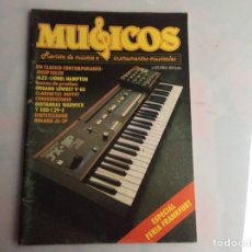 Revistas de música: MUSICOS PROFESIONAL Nº 23 REVISTA DE MUSICA E INSTRUMENTOS MUSICALES - AÑOS 80. Lote 134582002