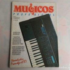 Revistas de música: MUSICOS PROFESIONAL Nº 2 REVISTA DE MUSICA E INSTRUMENTOS MUSICALES - AÑOS 80. Lote 134582262
