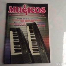 Revistas de música: MUSICOS PROFESIONAL Nº 34 REVISTA DE MUSICA E INSTRUMENTOS MUSICALES - AÑOS 80. Lote 134582606