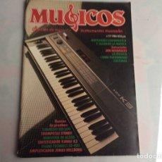 Revistas de música: MUSICOS PROFESIONAL Nº 37 REVISTA DE MUSICA E INSTRUMENTOS MUSICALES - AÑOS 80. Lote 134583062