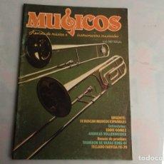 Revistas de música: MUSICOS PROFESIONAL Nº 41 REVISTA DE MUSICA E INSTRUMENTOS MUSICALES - AÑOS 80. Lote 134583094