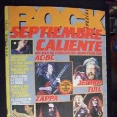 Revistas de música: ROCK SPEZIAL Nº 37 SPTIEMBRE 1984 - AC/DC , JETHRO TULL , IRON MAIDEN , ZAPPA. Lote 134617526