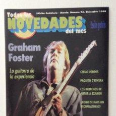 Revistas de música - Todas las novedades 76 Graham Foster Celtas Cortos - 134861398