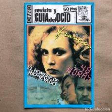 Revistas de música: CHIVATO N° 40 (1983). REVISTA Y GUÍA DEL OCIO DE BILBAO. RIP, ÚLTIMO RESORTE, ESKORBUTO, LA POLLA R,. Lote 135004798