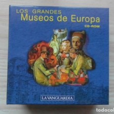 Revistas de música: ENCICLOPEDIA MULTIMEDIA DE LOS GRANDES MUSEOS DE EUROPA EN 14 CD ROM. LA VANGUARDIA. PERFECTO ESTADO. Lote 135014674