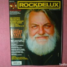 Revistas de música: MAGAZINE ROCKDELUXE + CD 256 ROBERT WYATT DEVENDRA BANHART STEVE EARLE R. Lote 135297490