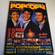 Revistas de música: POPCORN INTERNACIONAL Nº 7 COMPLETA LA DE LAS FOTOS VER TODAS MIS REVISTAS DE MUSICA. Lote 135308550