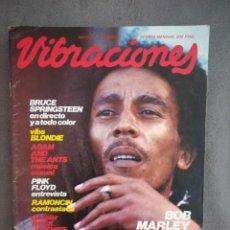 Revistas de música: VIBRACIONES NO. 80. MAYO 81-BOB MARLEY - BLONDIE - SPRINGSTEEN.. Lote 136251686