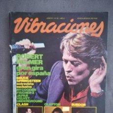 Revistas de música: VIBRACIONES NO.81 JUNIO 1981.R. PALMER, COODER, ERIC CLAPTON, ERIC BUFÓN, CLASH.. Lote 136252730