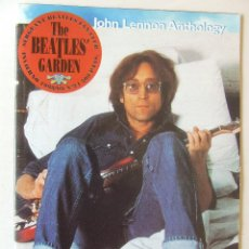 Revistas de música: THE BEATLES' GARDEN 24 1998 JOHN LENNON ANTHOLOGY SIX CHRISTMAS RECORD SEAN LENNON. Lote 201842962