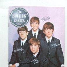 Revistas de música: THE BEATLES' GARDEN 26 1999 JOHN LENNON ANTHOLOGY AUTOGRAFOS PAUL MCCARTNEY PAINTINGS. Lote 157047325