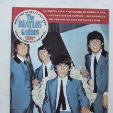 Revistas de música: THE BEATLES' GARDEN 30 2000 SAVILLE ROW DEZO HOFFMANN RINGO STARR BAND BEATLES EN ALEMAN. Lote 157047260